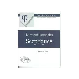 Le vocabulaire des Sceptiques