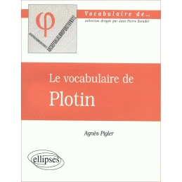 Le vocabulaire de Plotin