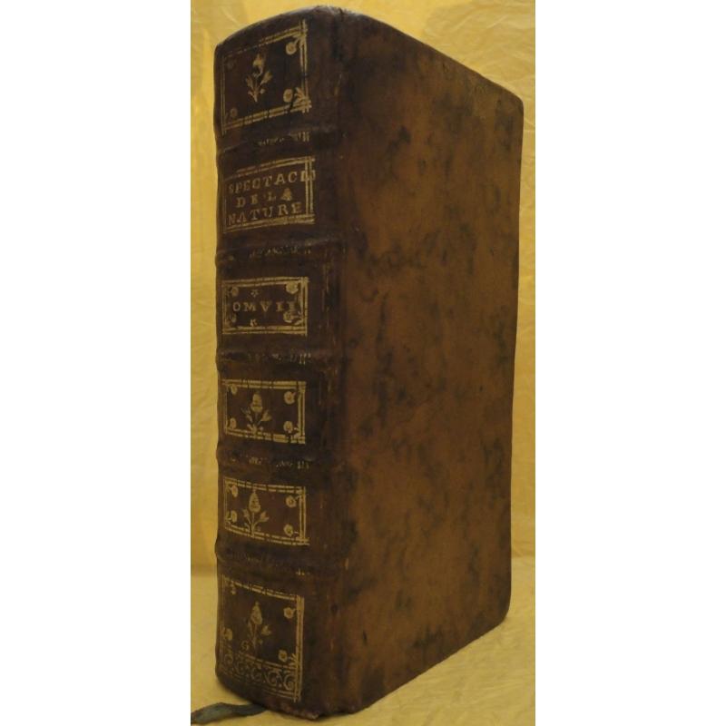 Le spectacle de la nature, ou Entretiens sur les particularités de l'histoire naturelle, tome VII