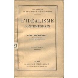 L'idéalisme contemporain