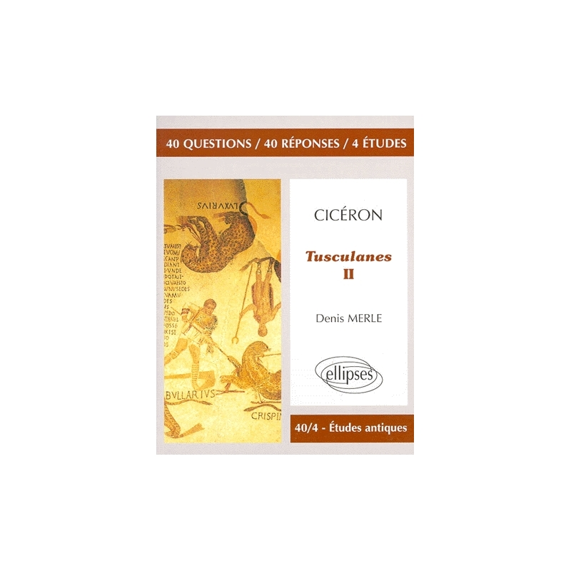 Cicéron, Tusculanes II