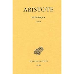 Rhétorique, tome II (livre II)