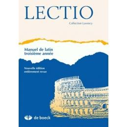 Lectio - Manuel de latin troisième année