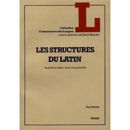 Les structures du latin