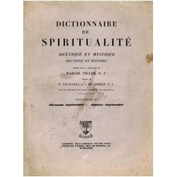Dictionnaire de spiritualité ascétique et mystique. Doctrine et Histoire