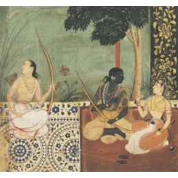 Le Ramayana de Valmiki illustré par les miniatures indiennes du XVIe au XIXe siècle