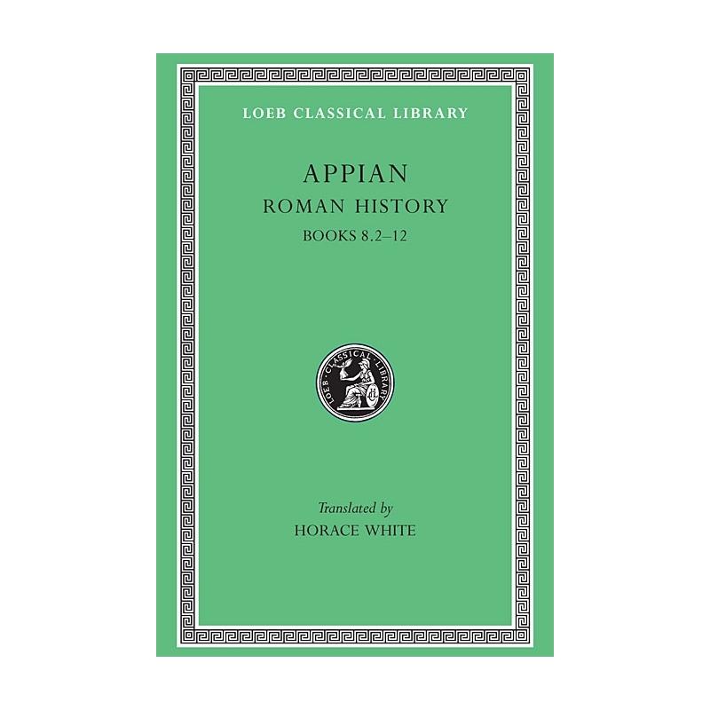 Appian's Roman History II, book VIII-Part II. Numidians affairs. Fragments