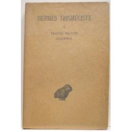 Corpus hermeticum,  tome II. Traités XIII-XVIII   Asclépius