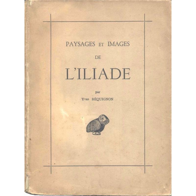 Paysages et images de l'Iliade