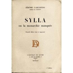Sylla ou la monarchie manquée