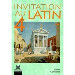 Invitation au latin 4e