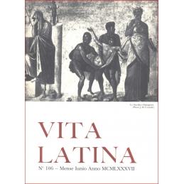 Vita Latina - N° 106. Mense Junio Anno MCMLXXXVII