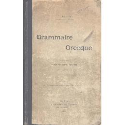 Grammaire grecque à l'usage des classes