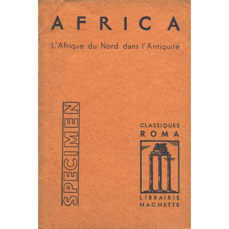 Africa. L'Afrique du Nord dans l'Antiquité