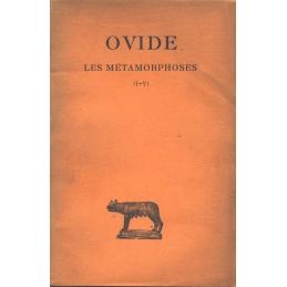 Les Métamorphoses - Tome I (Livres I-V)