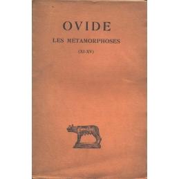 Les Métamorphoses - Tome III (Livres XI-XV)