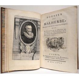 Poésies de Malherbe, rangées par ordre chronologique...
