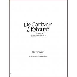 De Carthage à Kairouan, 2000 ans d'art et d'histoire en Tunisie