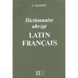 Dictionnaire abrégé de latin-français