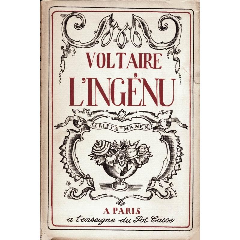 L'ingénu. Histoire véritable tirée des manuscrits du Père Quesnel