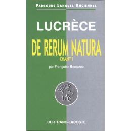 Lucrèce : De rerum natura, chant I