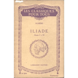 Iliade, chants I et VI et résumé et extraits des chants II- V (traduction)