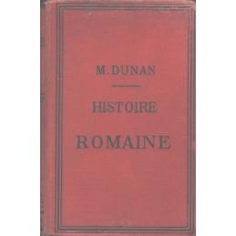 Histoire romaine de la fondation de Rome à la formation des empires d'Occident et d'Orient en 395