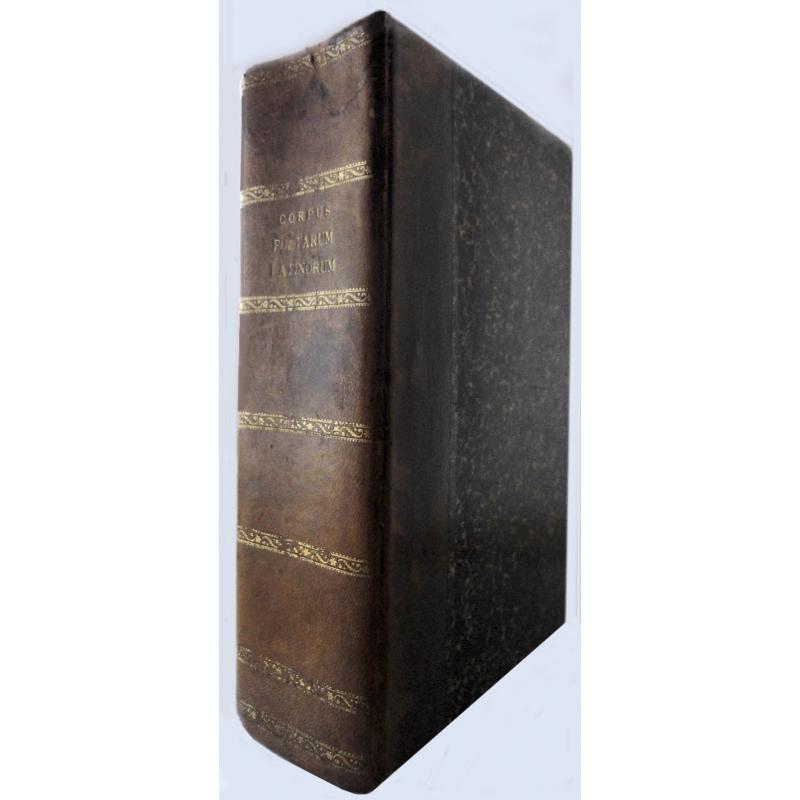 Corpus poetarum latinorum. Uno volumine absolutum