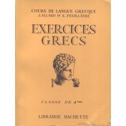 Exercices grecs à l'usage de la Classe de Quatrième