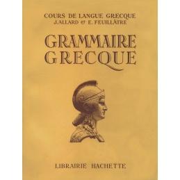 Grammaire grecque à l'usage des classes de la quatrième à la 1ère supérieure