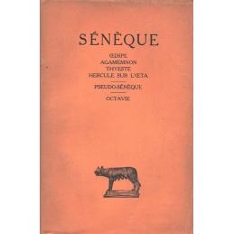 Tragédies tome II : Œdipe, Agamemnon, Thyeste, Hercule sur l'Œta - Pseudo-Sénèque : Octavie