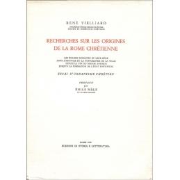 Recherches sur les origines de la Rome chrétienne