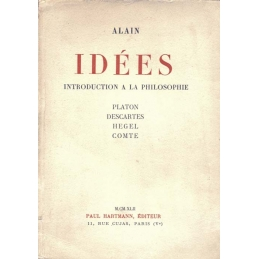 Idées. Introduction à la philosophie. Platon. Descartes. Hegel. Comte