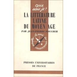 La littérature latine du Moyen Age
