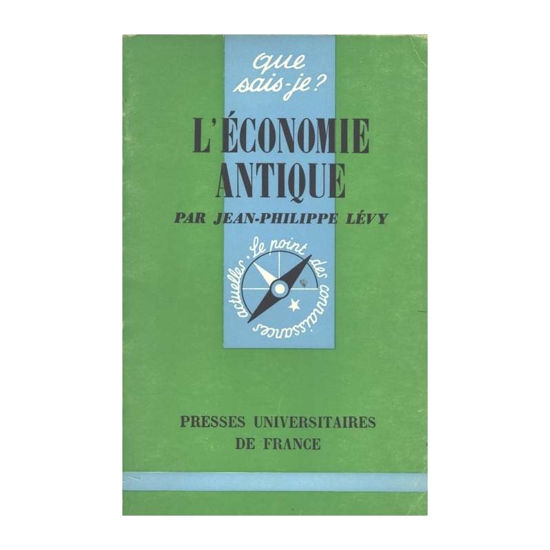 L'économie antique