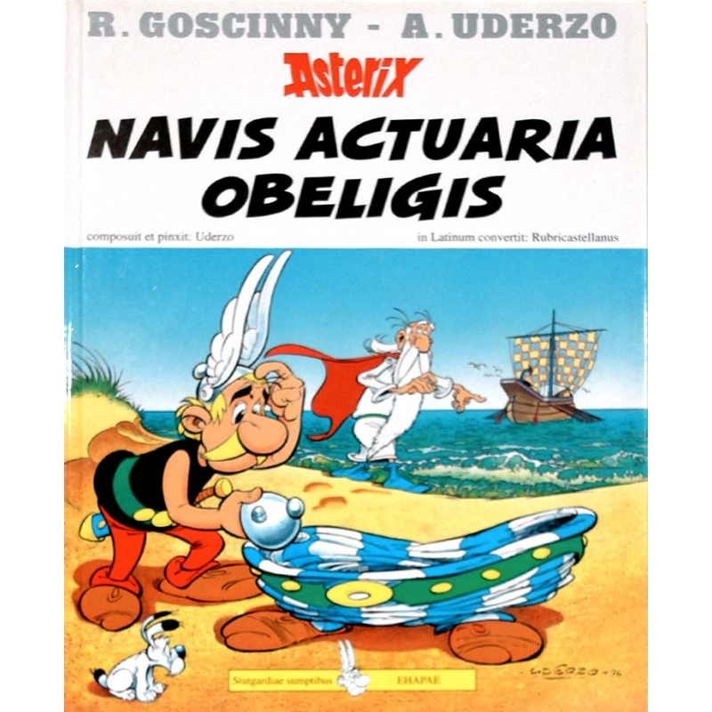 Asterix : Navis actuaria Obeligis