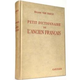 Petit dictionnaire de l'ancien français