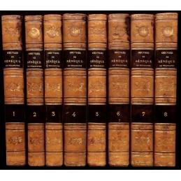 Œuvres complètes de Sénèque le philosophe (8 vol.)