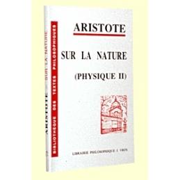 Sur la nature (Physique II)