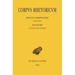 Corpus rhetoricum, tome III, 1ère partie et 2e partie