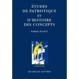 Études de patristique et d'histoire des concepts