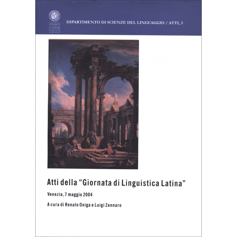 Atti della « Giornata di Linguistica Latina »