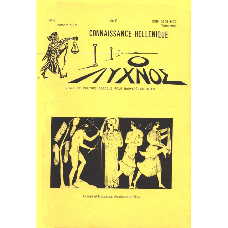 Connaissance hellénique n° 38 Janvier 1989