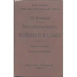 Précis d'histoire ancienne de l'orient et de la Grèce