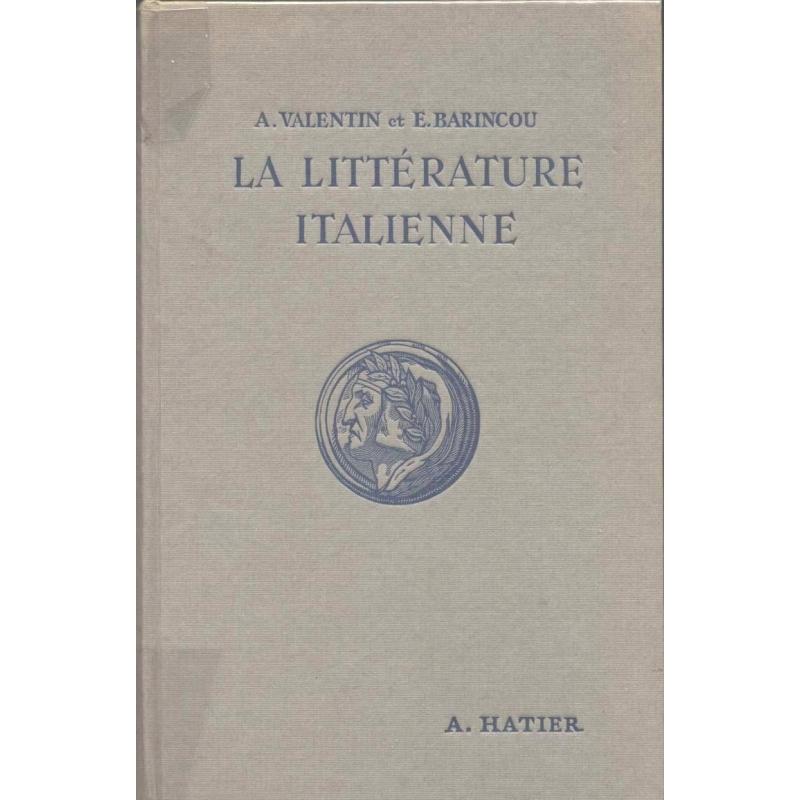 La littérature italienne par les textes