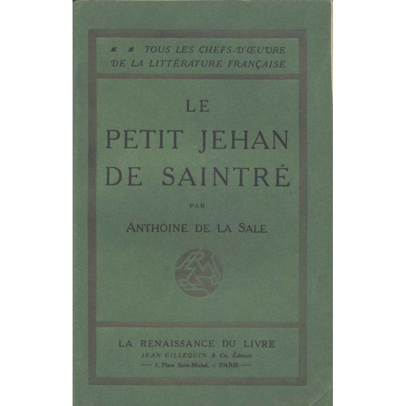 Le petit Jehan de Saintré
