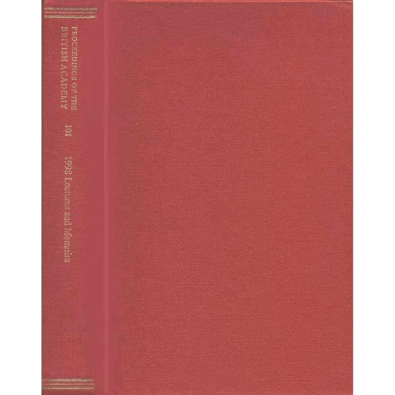 Proceedings of the British Academy 101 : 1998 Lectures and Memoirs