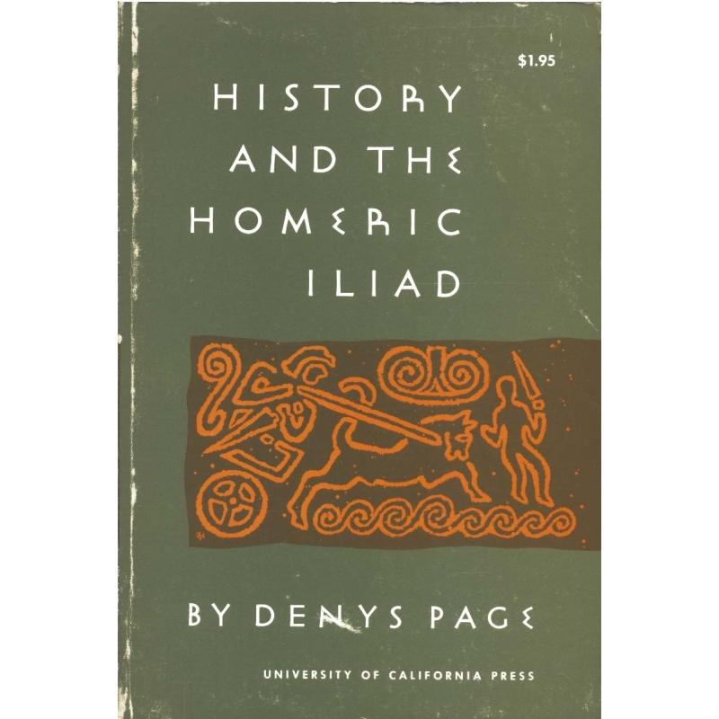History and the Homeric Iliad