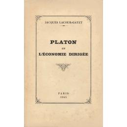 Platon et l'économie dirigée