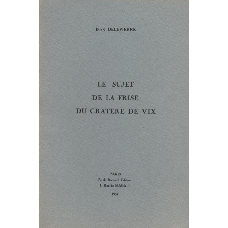 Le sujet de la frise du cratère de Vix